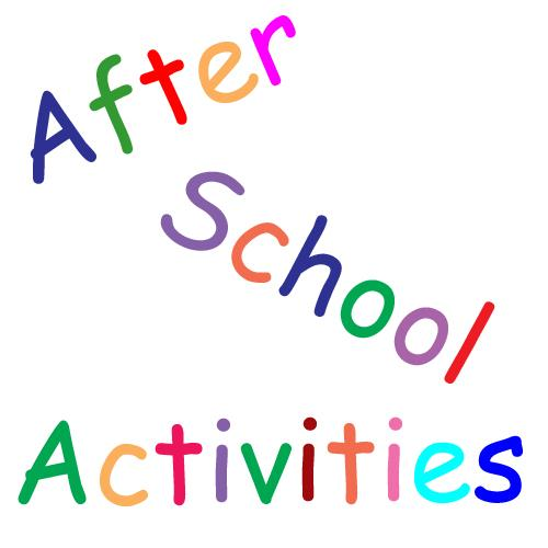 an after school activity group in the village hall it could be crafts